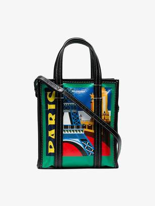 Balenciaga multicoloured Paris Bazar Shopper Mini Tote Bag
