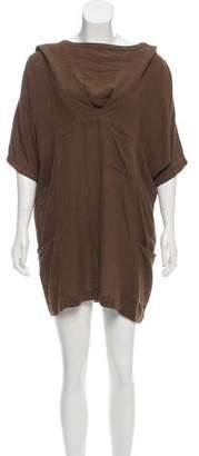 Isabel Marant Hooded Silk Dress