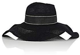 FILUHATS Women's Mauritius Straw Sun Hat - Black