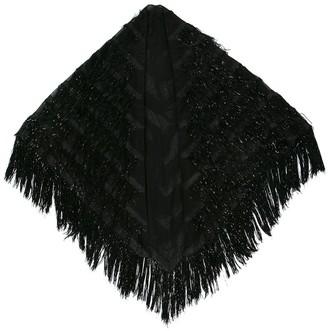 Gucci fringed scarf