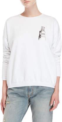 Fiorucci White Empire Boxy Sweatshirt