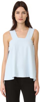 Helmut Lang Side Tie Blouse $320 thestylecure.com