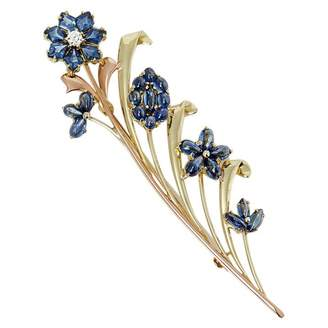 Tiffany & Co. Yellow gold pin & brooche