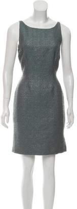 Fendi Wool Sheath Dress