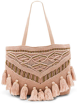 Cleobella Swoon Tote Bag in Blush. $231 thestylecure.com