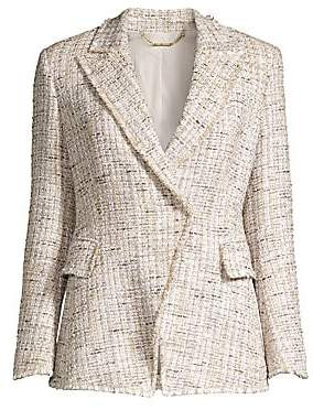 Elie Tahari Women's Jezebel Tweed Jacket - Size 0