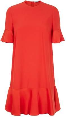 RED Valentino Ruffle Mini Dress