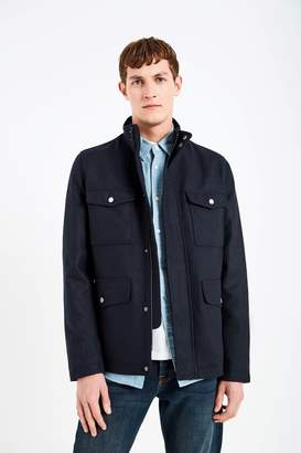 Jack Wills Bordfield Wool Military Jacket