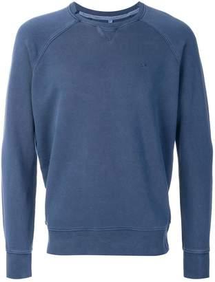 Sun 68 logo embroidered sweatshirt