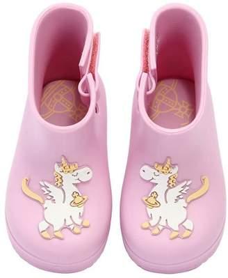 Mini Melissa Scented Unicorn Rubber Boots
