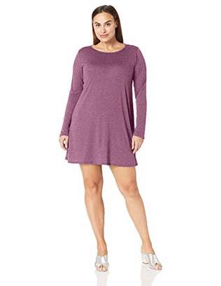 Lyss Loo Women's Shift & Shout Long Sleeve Over-Sized Tunic