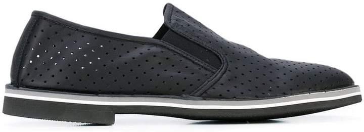Baldinini perforated decoration slippers