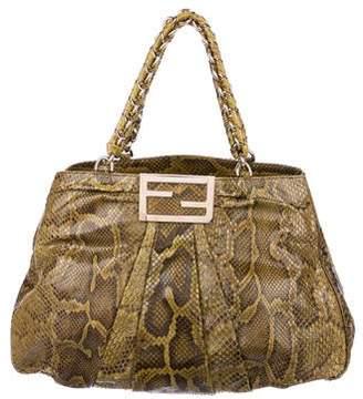 Fendi Snakeskin Shoulder Bag