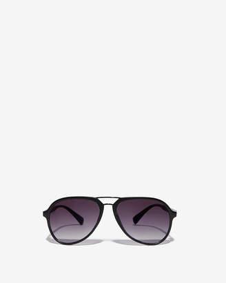 Express Brow Bar Aviator Sunglasses