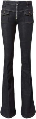 Victoria Beckham Victoria, Flare Dark Denim Jeans