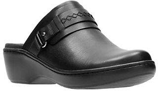 Clarks Delana Leather Clogs