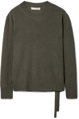 Vince Cashmere Sweater - Dark green