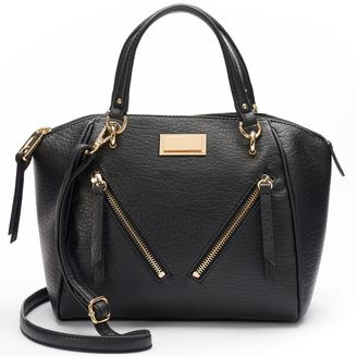 Juicy Couture Diagonal Zipper Satchel $79 thestylecure.com