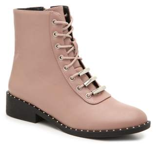 Qupid Plateau-237CX Combat Boot
