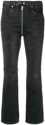 Rag & Bone Jean zipper detail flared jeans