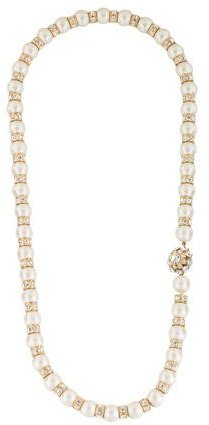 Kate Spade Kate Spade New York Pearl & Crystal Bead Necklace
