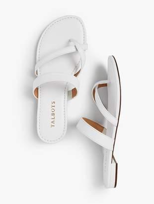 Talbots Gia Toe-Ring Sandals - Soft Nappa