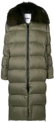 Yves Salomon Army long padded coat