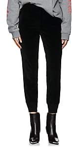 VIS A VIS Women's Corduroy Jogger Pants - Black