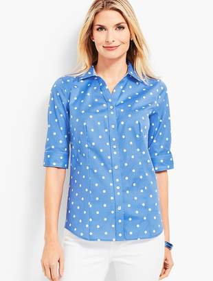 Talbots The Perfect Shirt - Polka Dot