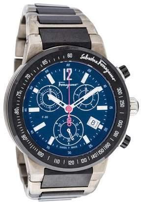 Salvatore Ferragamo F-80 Chronograph Watch