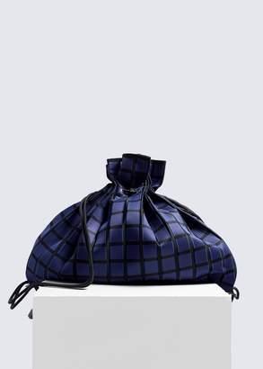 Issey Miyake Linear Knit Drawstring Backpack