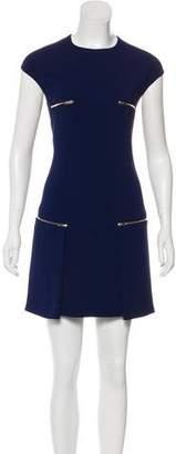 Stella McCartney Zip-Accented Mini Dress