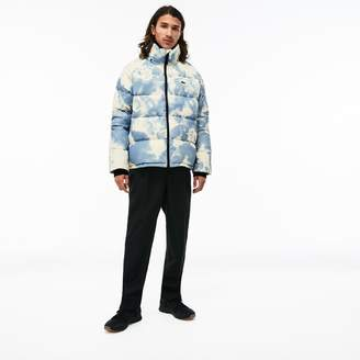 Lacoste Unisex LIVE Water-Resistant Quilted Jacket