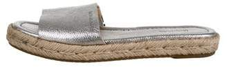 MICHAEL Michael Kors Leather Slide Sandals