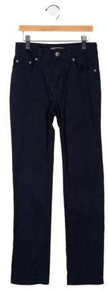 Vince Girls' Five-Pocket Straight-Leg Pants