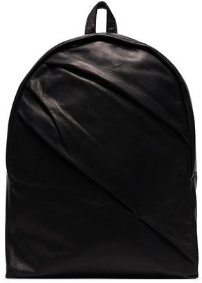 Yohji Yamamoto folded-detail backpack