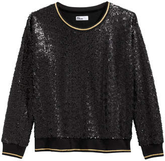 Epic Threads Big Girls Sequin Sweatshirt