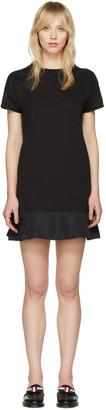 Moncler Black Peplum T-Shirt Dress $375 thestylecure.com