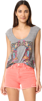 Chaser Decorated Camels Tee $60 thestylecure.com