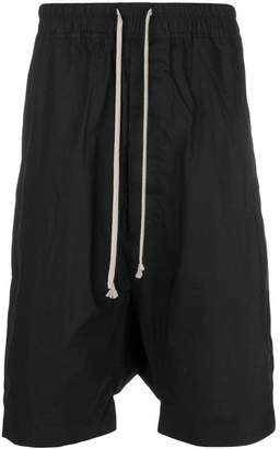 Rick Owens Sisyphus dropped crotch shorts