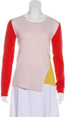 Stella McCartney Colorblock Cashmere Top
