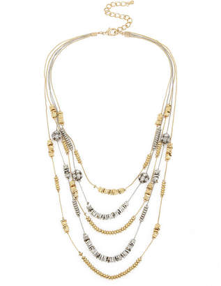 Boutique + + Womens Illusion Necklace