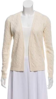 Ralph Lauren Cashmere Cable Knit Cardigan