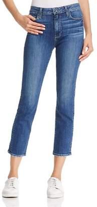Paige Jacqueline Straight-Leg Jeans in Medium Blue