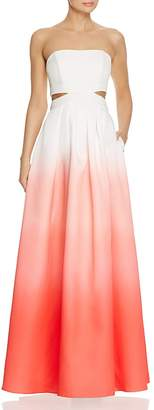 Decode 1.8 Ombré Cutout Gown
