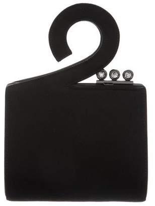 Rodo Small Woven Evening Bag
