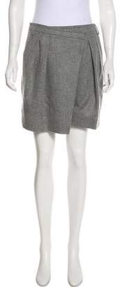 Givenchy High-Rise Wool-Blend Shorts w/ Tags
