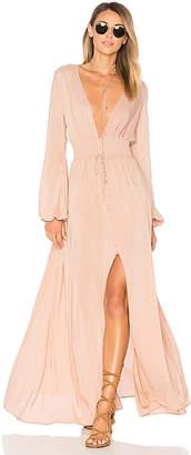 ale by alessandra Eduarda Maxi Dress in Blush $228 thestylecure.com