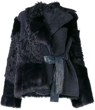 Drome furry loose jacket