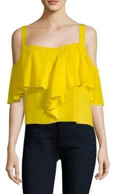 Ramy Brook Delilah Cold-Shoulder Top